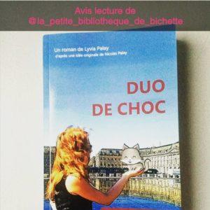 Retour de lecture de la bibliothèque de bichette roman Duo de Choc de Lyvia Palay